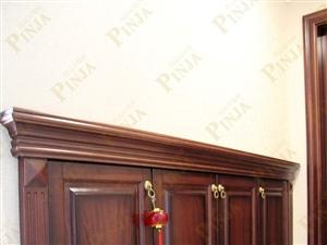 别墅原木门 室内实木门 家用榉木门 实木简欧门客户案例欣赏