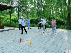 卢龙县老干部局第十三支部七.一健身运动会