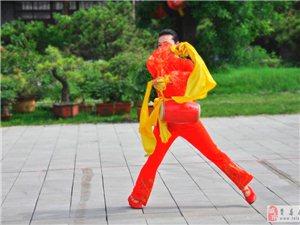 临沂第六届全民健身运动会万人健身展演(秒速飞艇站)腰鼓之一