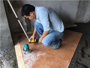 瓷砖现场加工 省钱省力――靓丽家装 专业施工团队