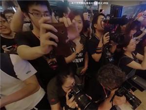 上海大光明影院魔兽首映礼惊现联盟勇士求婚
