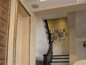 实木楼梯 橡木楼梯 别墅橡木+铁艺楼梯 混搭风格楼梯 欣赏