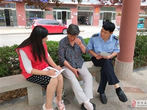澳门拉斯维加斯街道海宁社区开展创城调查问卷活动