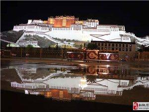 夜晚下的布达拉宫―可以推荐给想去西藏游玩的小伙伴们