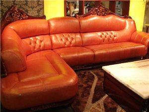 千禧真皮沙发