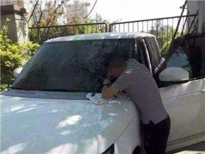 汽车玻璃修复划痕.裂痕.石击牛眼.不伤原模恢复原样