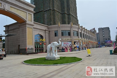 锦城天下实景图