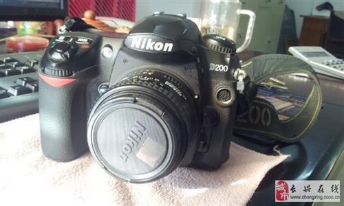 轉讓尼康D200單反相機