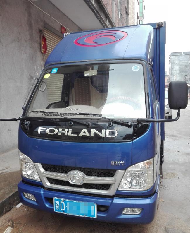 便宜转让9成新3.3米长厢式货车实用省油适合做生意