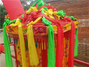 滎陽市民間傳統藝術花轎為你服務