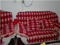 超低價格!一套組合式沙發,贈送茶幾!