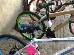 幫朋友處理一批全新山地自行車