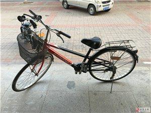 本人闲置一辆七八成新的自行车出售