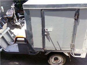 个人低价转让全新电动三轮箱货车,能当快递车、送餐车