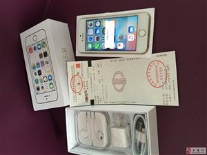 急需用钱,懂货的来,苹果iphone5s土豪金64