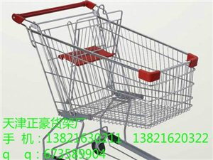 天津購物車提籃車超市購物車廠家出售訂做