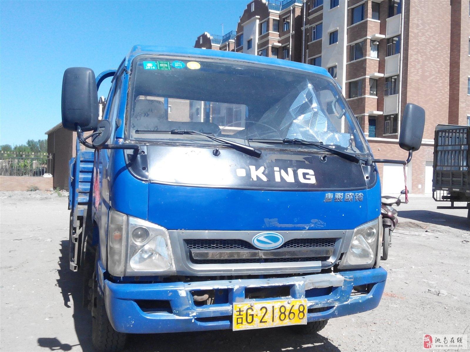 急賣唐駿輕卡王4102機器,4.2米板車