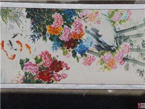 中國畫:1爭春   2富貴有魚