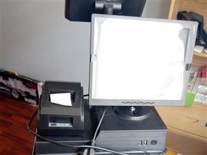 全新超市扫描收银机