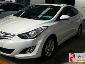 2014款現代朗動1.6L自動尊貴型售價1.5萬