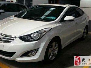 2014款现代朗动1.6L自动尊贵型售价1.5万