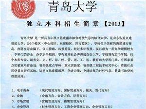青島大學中心校區自考本科,青島大學全日制自考本科
