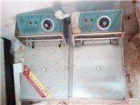 二手不锈钢冰柜、收银机、炸炉、薯条站、抽烟机高速