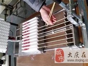 出售手动穿串机肉串机用了两回另带两块模板