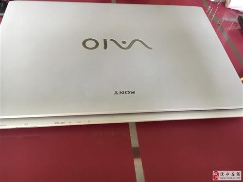出售白色索尼笔记本一台,可玩dnf,lol