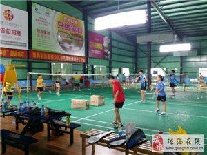 琼海羽毛球协会青少年羽毛球暑假培训班开始招生啦!