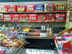 超市鋼木結合散貨架 鋼木糖果架 鋼木干貨架 中島架