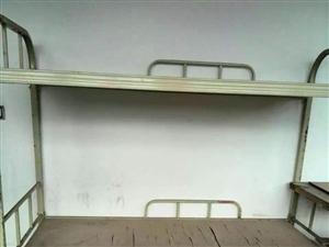 出售九成新几十架双层铁床