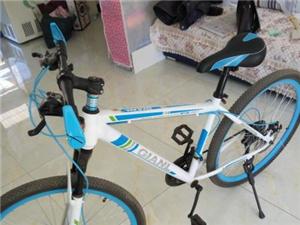 出售全新山地自行车,骑不到一周
