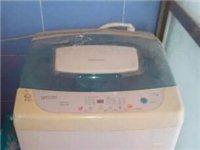 便宜出售一臺7成新的全自動洗衣機,海信的