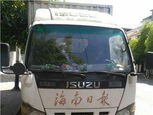 出售二手厢式货车一国内辆