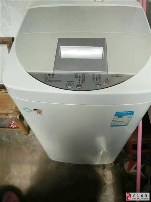 转让二手海尔洗衣机,冰箱,有需要者请联系