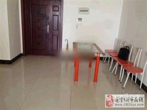 盛世上江城装修房卧室有空调拎包入住