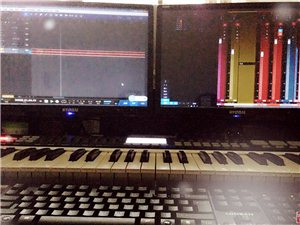 作词、作曲、编曲、混音、录音、打谱、以及编曲教学等