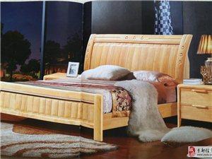 批发橡木床送自家生产的高品质床垫