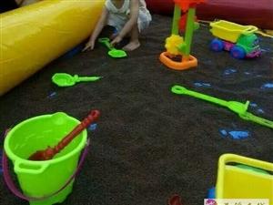 出售二手充气玩具塑料沙池