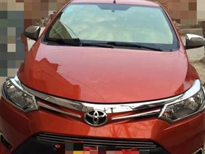 丰田威驰 2014款 1.5 自动 智臻版 橙