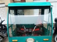 油电两用电动三轮车。能拉货新换电机。