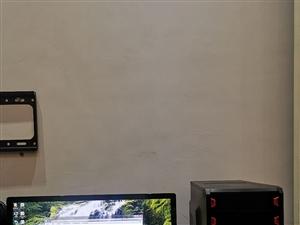 I3游戏主机,1000G硬盘,4G内存,独立游戏显卡,23寸飞利浦液晶显示器,无维修,可以正常使用,...