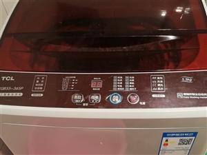 TCL5.5公斤洗衣�C9成新,�I�碛昧�6��月,什么���}都�]得,�I成730元,�F在因�榘峒业脑�因,�D�...
