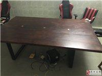 会议办公桌,尺寸1.5×2.5×0.74
