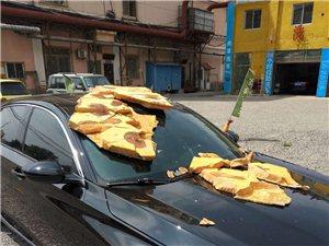 车被砸物业、产权方、施工方互相推诿无法维权