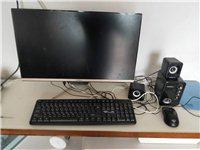 一体式电脑。无线鼠标,无线键盘。买来放家里没怎么用。