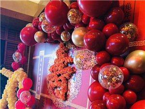氣球會場布置,甜品臺