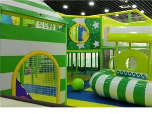信发绿豆蛙儿童乐园形象图